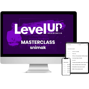 Snimak MasterClassa